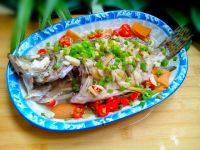 鲜香的清蒸桂鱼