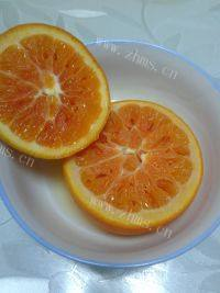 开胃的盐蒸橙子
