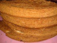 味道不错的烤蛋糕