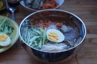 质嫩的韩式冷面