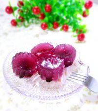 自制蓝莓果冻