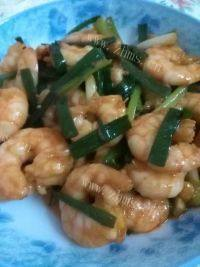 家常菜炒虾仁