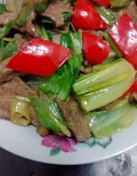 家常菜泡椒炒猪肝