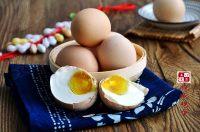 香气浓郁的腌咸鸡蛋