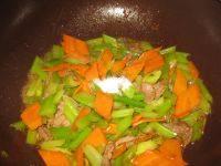 营养的炒芹菜