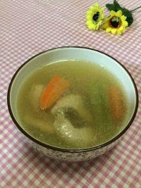 家常菜苦瓜瘦肉汤