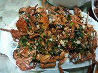美味的清蒸毛蟹