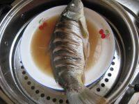 味道不错的清蒸鲤鱼