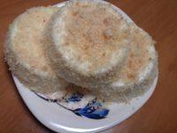 自制椰香奶冻糕