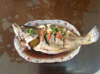 可口的清蒸桂鱼