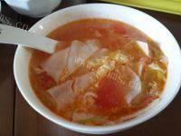 西红柿面片汤自制