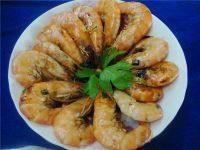 美味的红烧大虾
