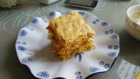 自己做的胡萝卜蛋糕