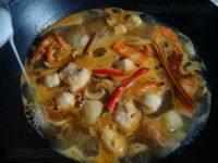 美味的泰式冬阴功汤