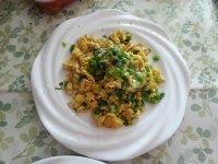 家常菜香葱炒鸡蛋