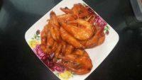 美味的番茄大虾