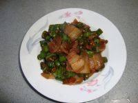 家常菜杭椒小炒肉