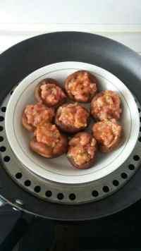简易的香菇酿肉