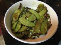 家常菜清炒扁豆