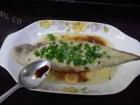 美味的清蒸龙利鱼