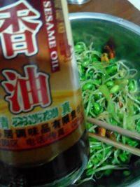 家常菜凉拌绿豆芽