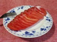 外婆做的糖拌西红柿