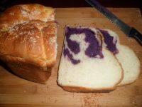 色味俱全的紫薯面包