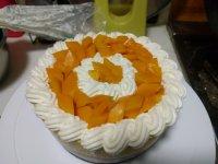 自制芒果流心慕斯蛋糕