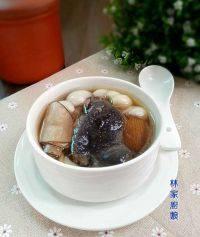 海底椰百合炖竹丝鸡