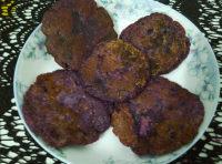 自制紫薯糯米饼