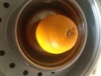 诱人的盐蒸橙子