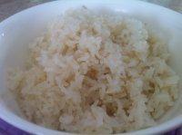 口感好的蒸米饭