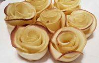 DIY美味苹果玫瑰酥