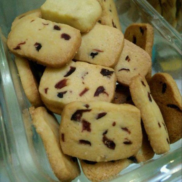 垂涎欲滴的蔓越莓饼干