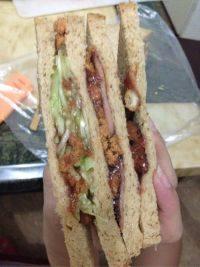 营养好吃的三明治