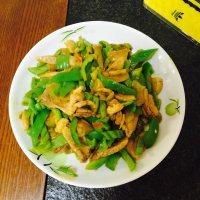 家常菜青椒榨菜肉丝