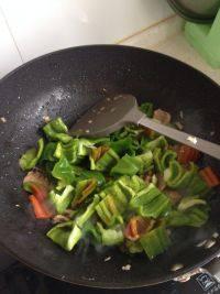 美味可口的青椒炒肉片