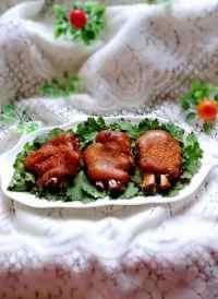 美味的香烤猪蹄