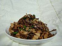 【美味可口】干煸茶树菇