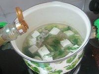 常吃不腻的青菜豆腐汤