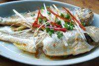 营养丰富的清蒸小黄鱼