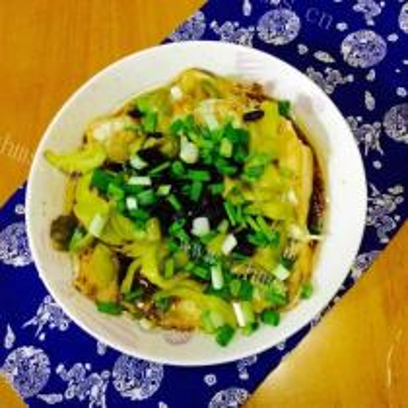 榨菜蒸鱼腩