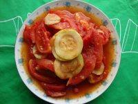 西红柿炒云南小瓜
