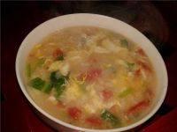 简易的白菜疙瘩汤