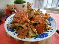 【首发】姜葱炒蟹