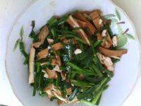 下饭的韭菜炒香干