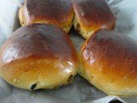 蜜豆面包自制