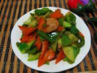 家常菜杂蔬炒肉