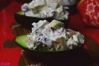 健康美食之牛油果沙拉