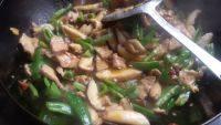 家常菜香菇肉片